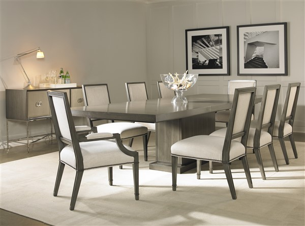 Marvelous AS SHOWN: W738T Bradford Dining Table. Finish: Langdon. Shown With One 20u201d  Extension. Pictures