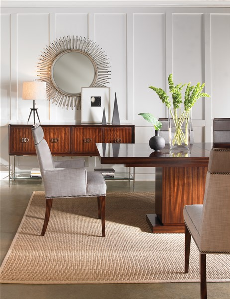 Exceptional AS SHOWN: W738T   Bradford Dining Table. Finish: Avery Artisan.