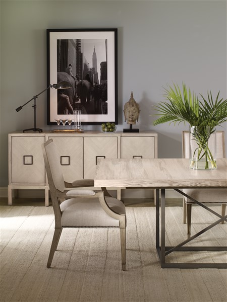 Superbe AS SHOWN: W758T BT Burroughs Dining Table. Finish: Barrington.