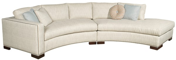 Bennett Arm Curved Sofa W180 Laj Our Products Vanguard
