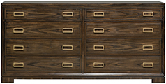 W552F Double Drawer Chest