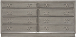 W552P Double Drawer Chest