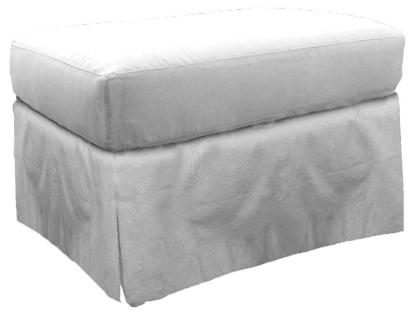Fisher Waterfall Skirt Ottoman V922w Ot Our Products