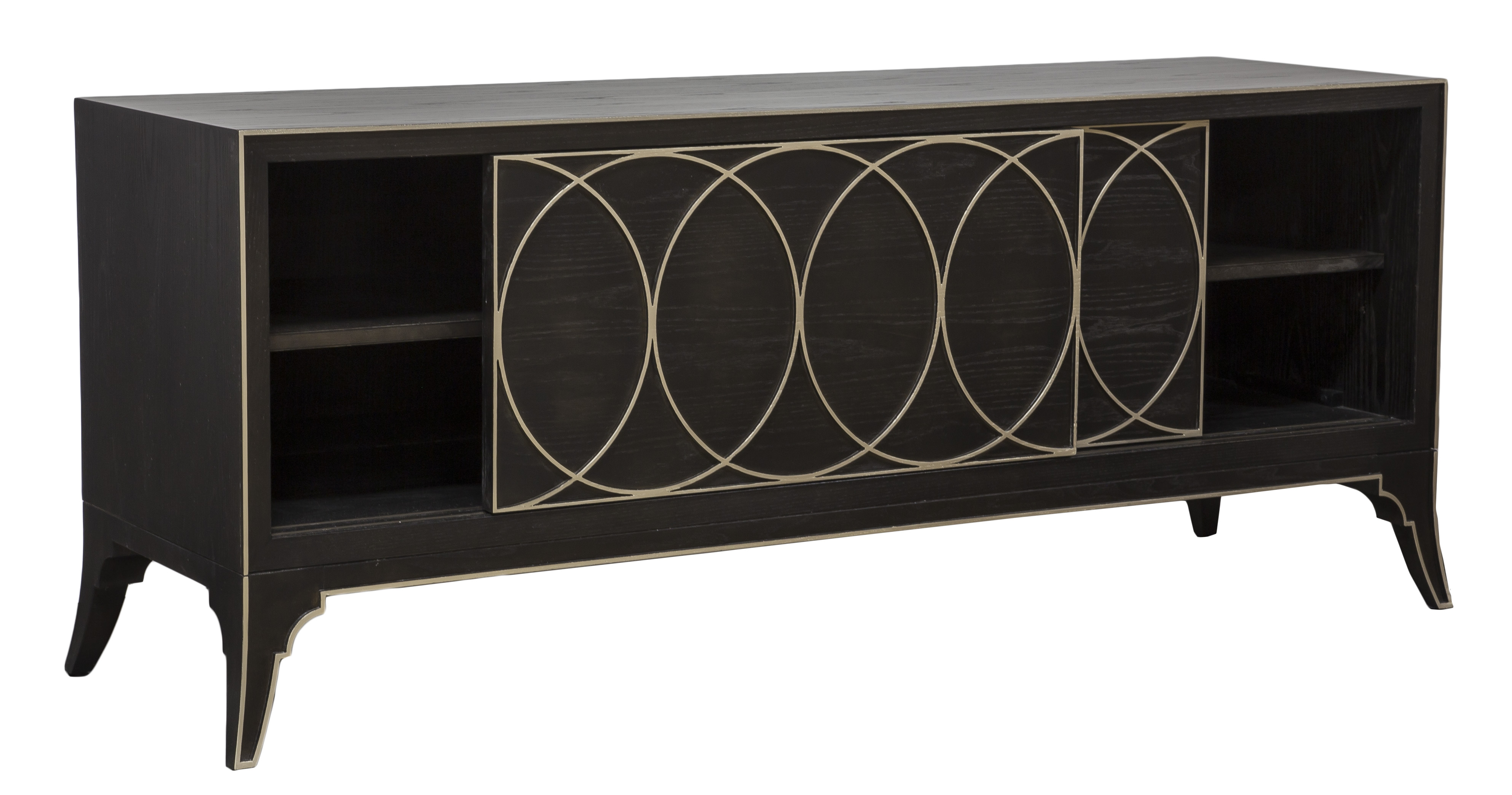Astonishing Coltrane Media Console P233Sc Our Products Vanguard Short Links Chair Design For Home Short Linksinfo