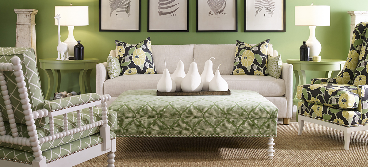 NEWLIN 655 Sofa Series Room Scene