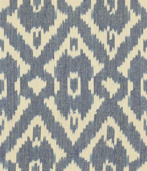 Margot Old Blue 550503 Fabric Leather Trim Vanguard
