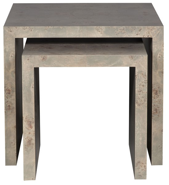 Tranquility side nesting tables p214e du our products vanguard as shown p214e du finish durango gray one large and one small side nesting table watchthetrailerfo