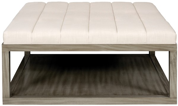 Miraculous Wayland Square Wood Ottoman W44Swan Our Products Ibusinesslaw Wood Chair Design Ideas Ibusinesslaworg