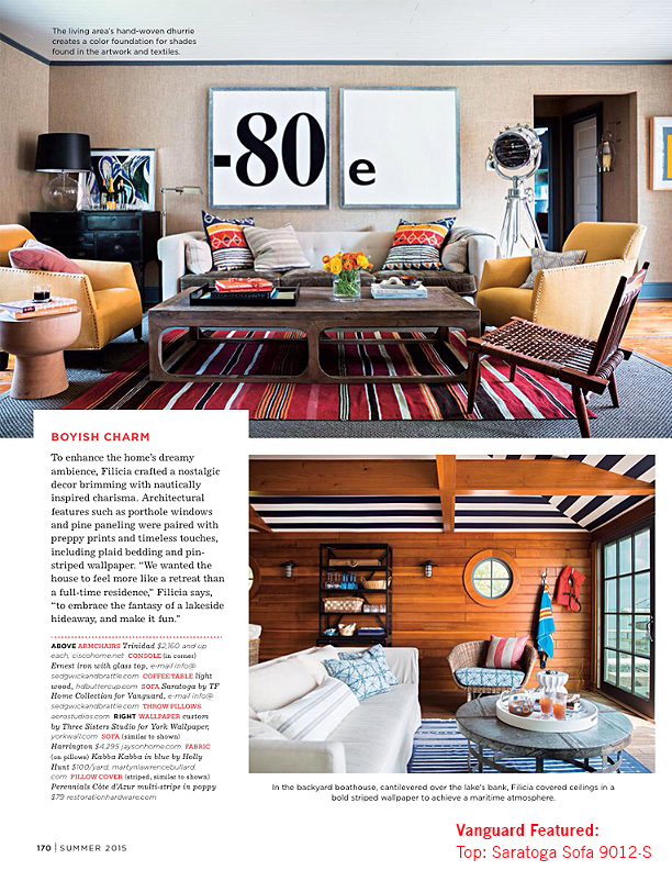 News vanguard furniture for American furniture catalog 2015